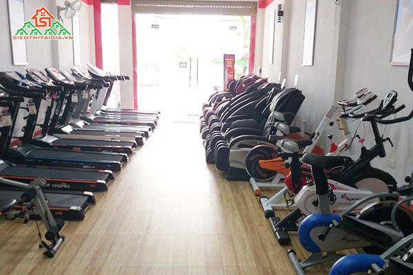 Cửa hàng xe đạp tập thể dục tại TP. Bảo Lộc, Đà Lạt - Lâm Đồng