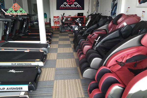 Địa chỉ mua bán ghế massage tại Bình Chánh
