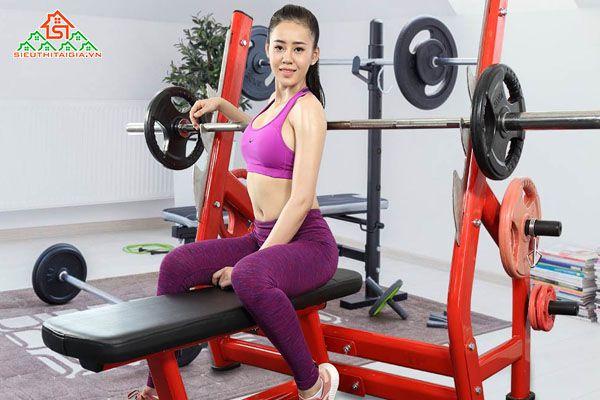 Ghế tập, giàn đẩy tạ đa năng, dụng cụ thể hình tại Tây Ninh, Đồng Xoài, Bình Phước