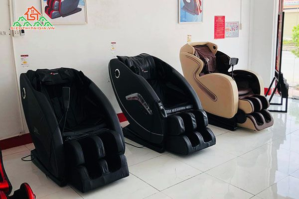 Cửa hàng bán ghế massage chất lượng tại Tân Phú