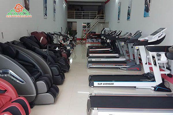 Cửa hàng bán máy chạy bộ điện giá rẻ tại quận Tân Phú