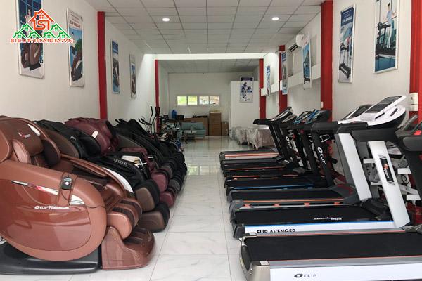 cửa hàng bán máy chạy bộ tại TP. Trà Vinh