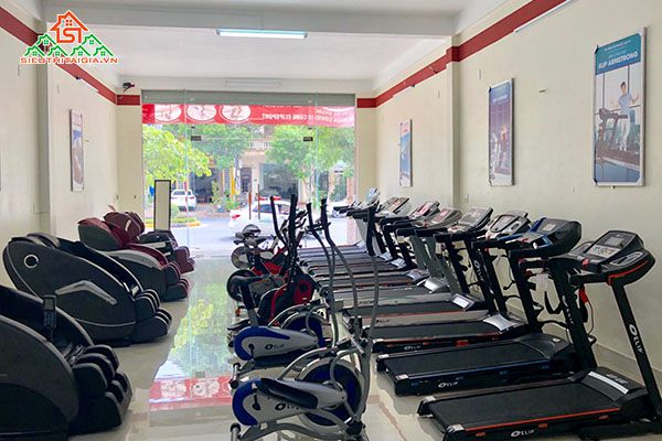 Cửa hàng bán máy chạy bộ tại tp Pleiku- Gia Lai