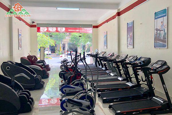 Cửa hàng bán xe đạp tập uy tín tại quận Hoàng Mai