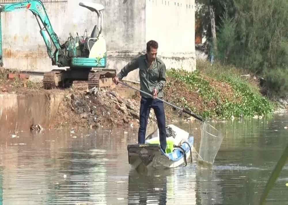 ô nhiễm nguồn nước do con người