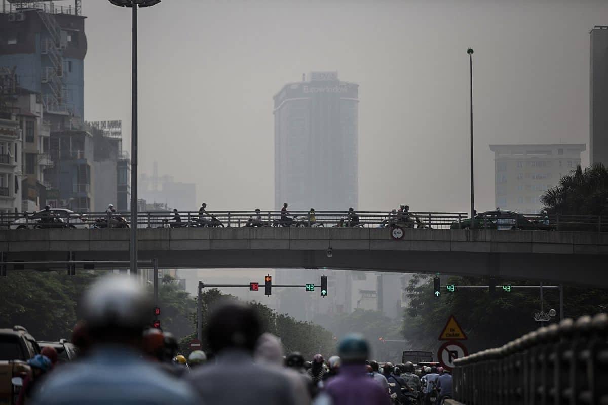ô nhiễm nguồn nước do đô thị hóa