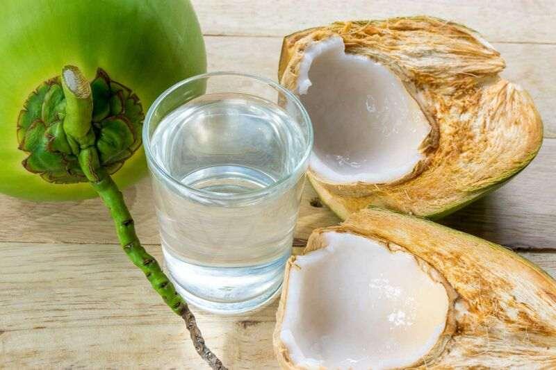 tác dụng của nước dừa trong giảm cân làm đẹp
