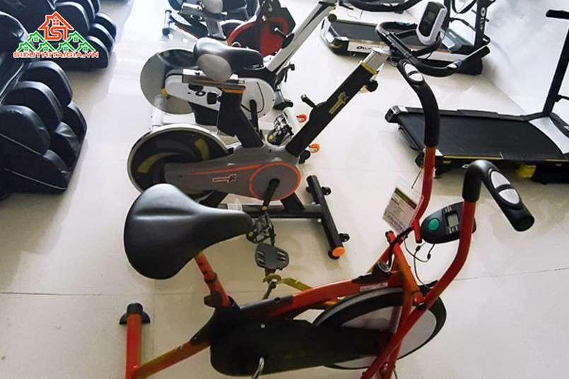 nơi bán xe đạp tập tại tp Cẩm Phả - Quảng Ninh