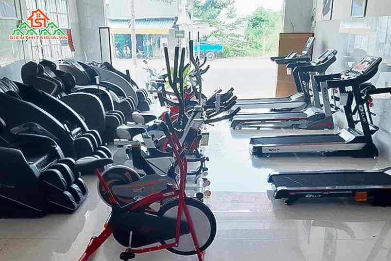 Cửa hàng bán xe đạp tập tại TP. Quảng Ngãi