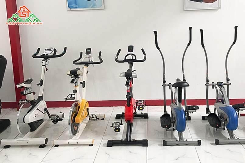 cửa hàng bán xe đạp tập tại tp Quy Nhơn - Bình Định