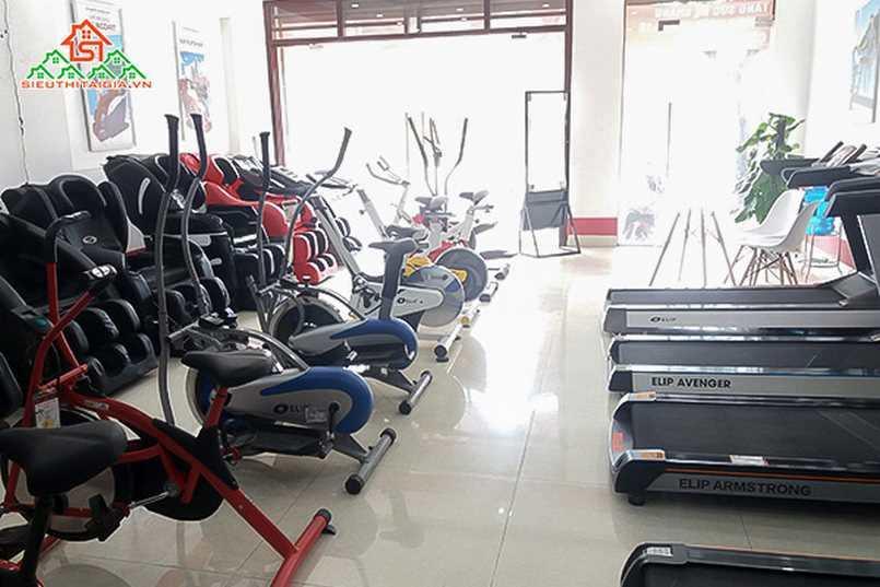 hàng bán xe đạp tập tại thị xã Bến Cát - Bình  Dương