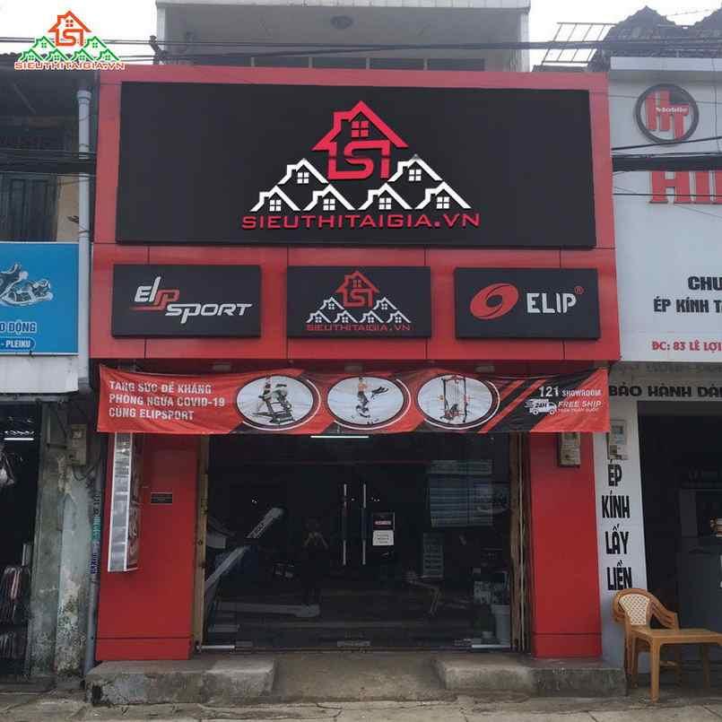 cửa hàng bán xe đạp tập  Thuận An - Bình Dương