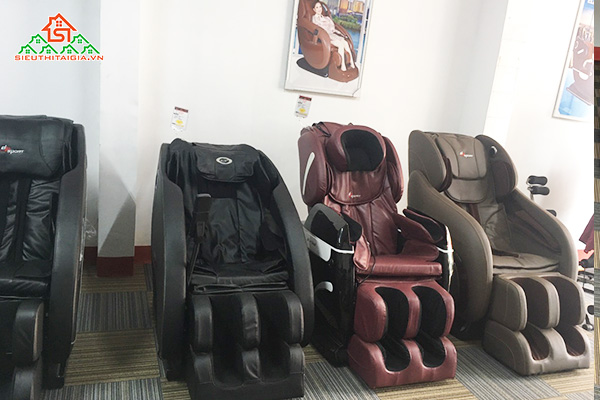 Mua ghế massage giá tốt tại quận Dương Kinh - Hải Phòng