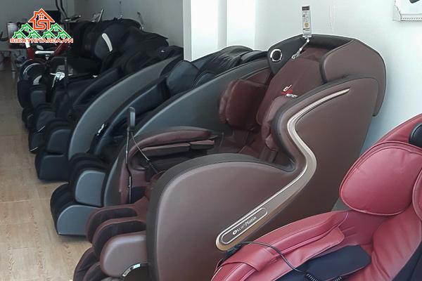 Điạ điểm bán ghế massage tốt tại thị xã Kiến Tường - Long An