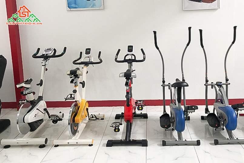 cửa hàng bán xe đạp tập tại TP Vĩnh Long