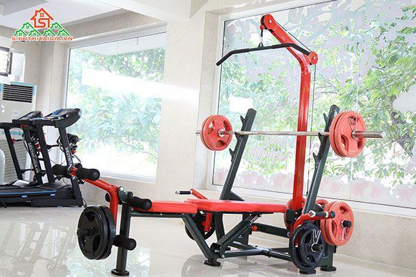 Cửa hàng bán dụng cụ thiết bị ghế tập gym tại quận Đống Đa