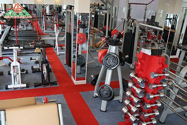 Cửa hàng bán dụng cụ thiết bị ghế tập gym tại quận Cầu Giấy