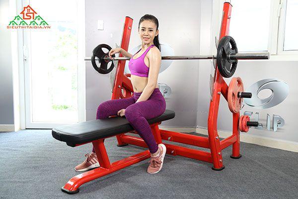 Nơi bán dụng cụ thiết bị ghế tập gym uy tín tại Tp Ninh Bình - Ninh Bình