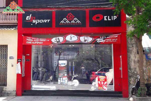 Cửa hàng bán dụng cụ thiết bị ghế tập gym tại Tp Biên Hòa - Đồng Nai