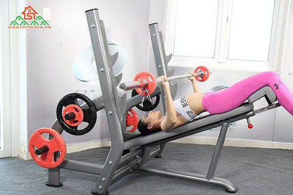 Nơi bán dụng cụ thiết bị ghế tập gym tại thị xã Gò Công - Tiền Giang