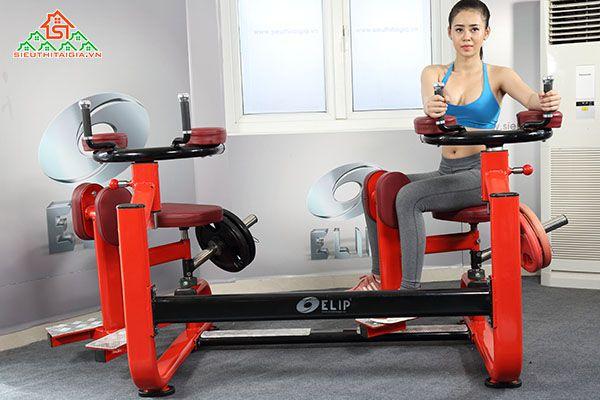 Cửa hàng bán dụng cụ thiết bị ghế tập gym tại Tp Long Xuyên - An Giang