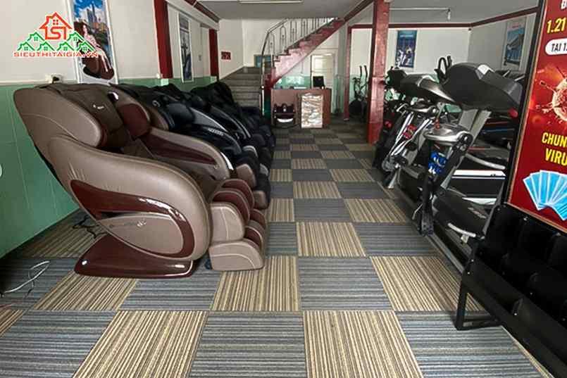 Nơi bán ghế massage tại Tp.Cẩm Phả - Quảng Ninh