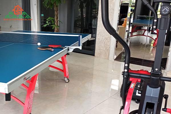 Địa chỉ bán vợt, bàn bóng bàn tại quận Lê Chân - Hải Phòng
