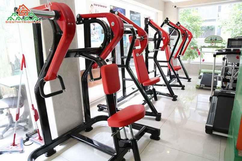 Cửa Hàng Bán Dụng Cụ Thiết Bị Ghế Tập Gym Tại Quận Hoàng Mai