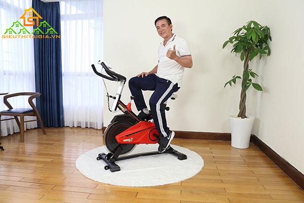 tác dụng của đạp xe tại chỗ