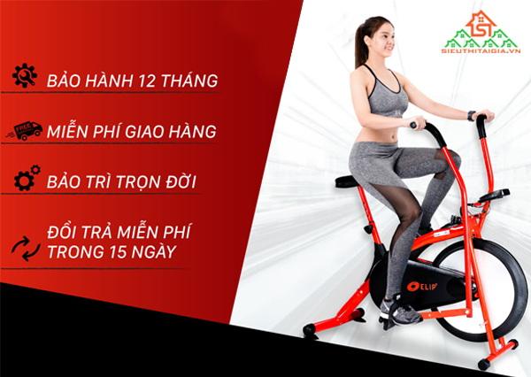 xe đạp tập thể dục loại nào tốt nhất