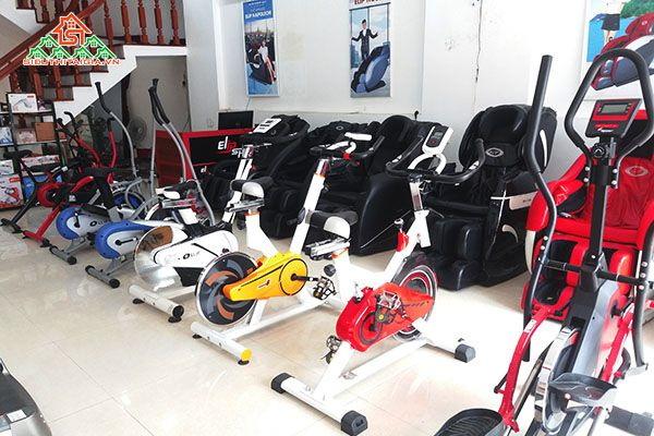 Chọn mua xe đạp tập tại Quận Tân Bình
