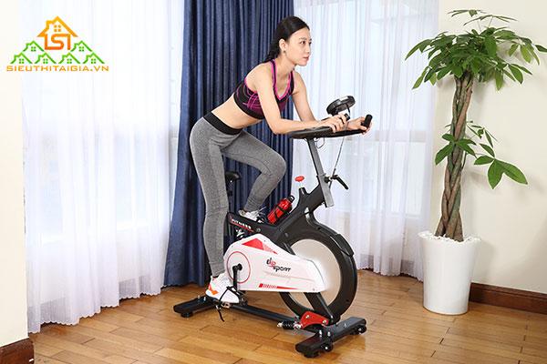 xe đạp tập thể dục giảm cân