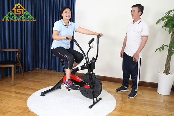 xe đạp tập thể dục mini