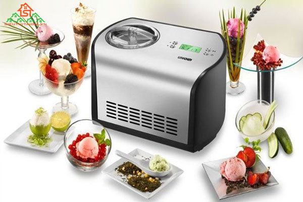 Nên chọn máy làm kem gia đình loại nào?