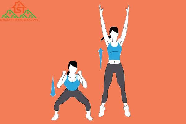 bài tập gym tăng chiều cao cho nữ