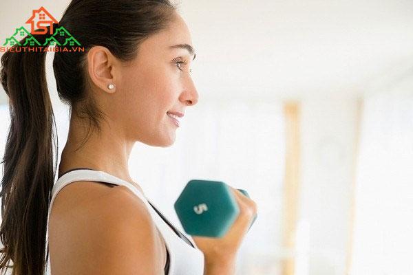 lịch tập gym tại nhà cho nữ