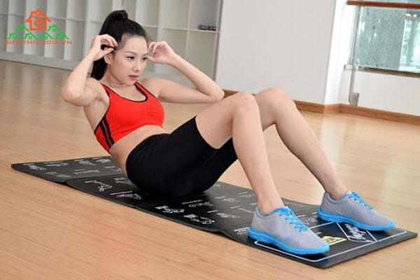 Bật mí các bài tập gym cho nữ mới bắt đầu