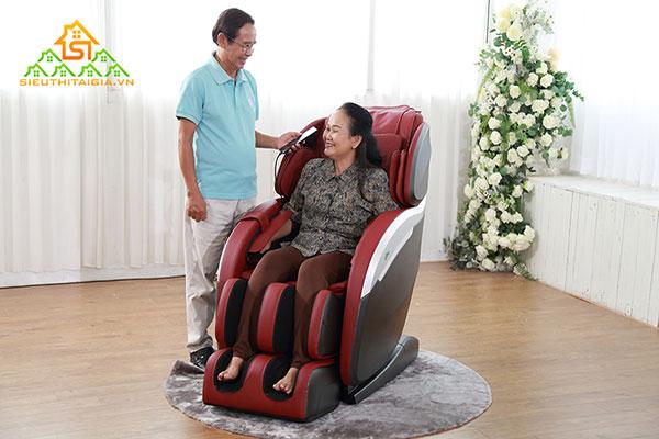 Những lưu ý khi chọn ghế massage cho người già