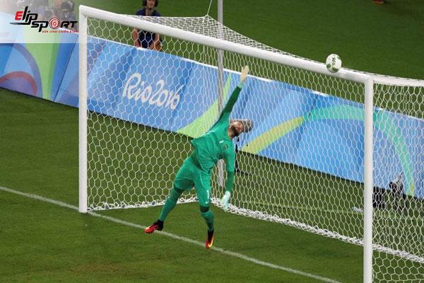 khung thành thủ môn bóng đá bao nhiêu mét
