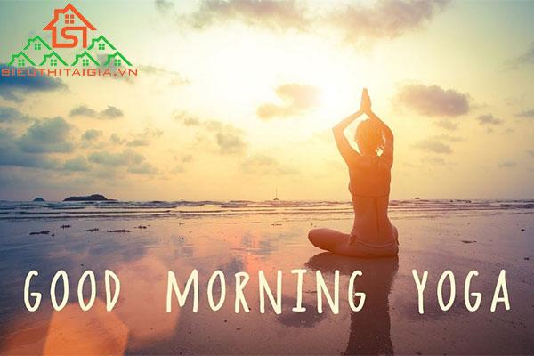 bài tập yoga chào mặt trời