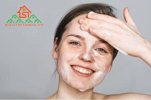 Các bước làm sạch da