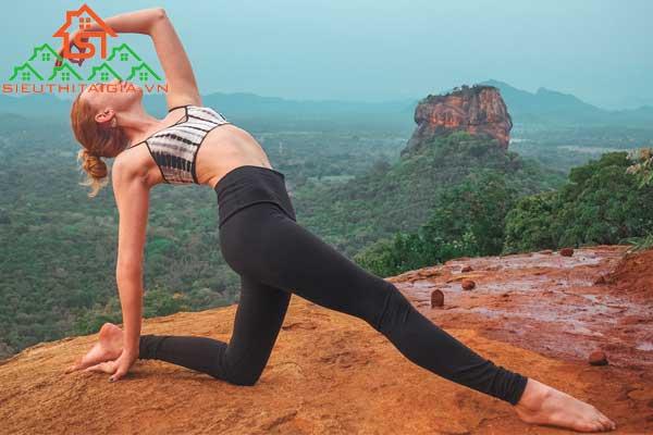 tư thế chim bồ câu trong yoga