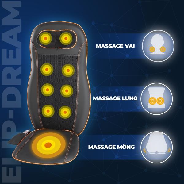 Tìm hiểu về máy massage lưng cho người già