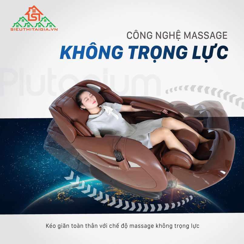 Những tính năng vượt trội của ghế massage toàn thân cao cấp