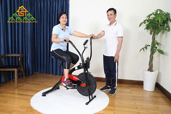 Vì sao nên sử dụng xe đạp tập vật lý trị liệu?