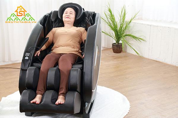 bật mí công dụng của ghế massage toàn thân