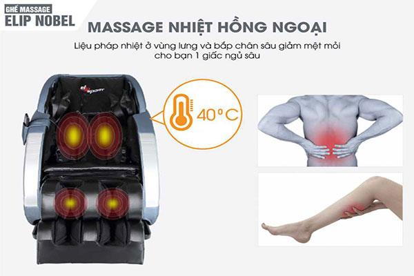 Những lưu ý khi sử dụng ghế massage toàn thân nhiệt hồng ngoại