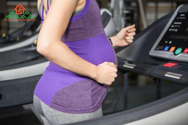 Cách sử dụng máy chạy bộ cho phụ nữ mang thai