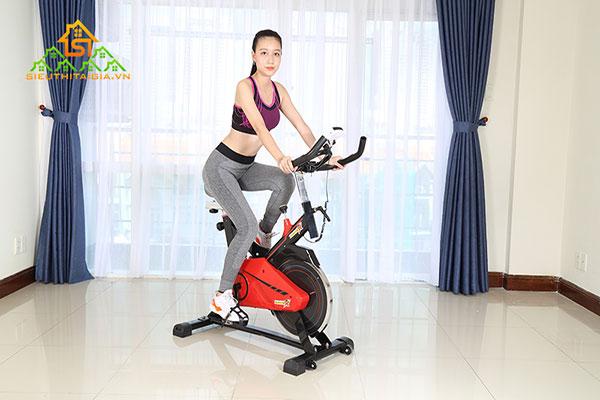Tác dụng của đạp xe đối với phụ nữ