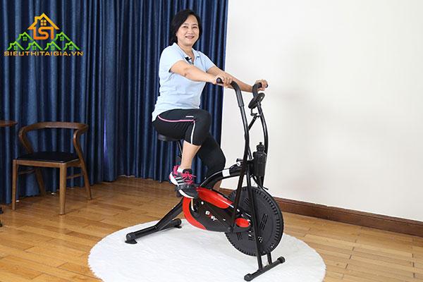 xe đạp tại chỗ